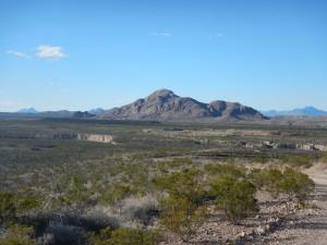 Scenery around the mine
